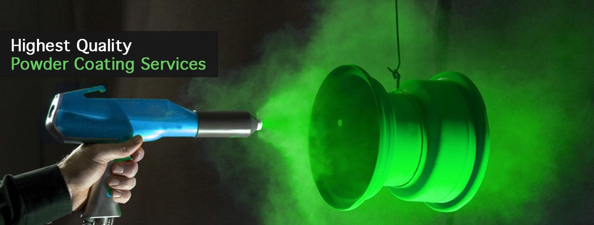 High Quality Powder coating Services